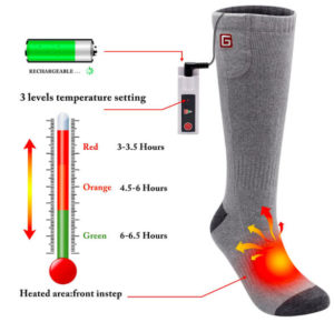 Autocastle-Rechargeable-Electric-Heated-Socks-Working